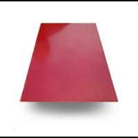 Гладкий лист Красное вино RAL 3005 PEMA 0.5 мм