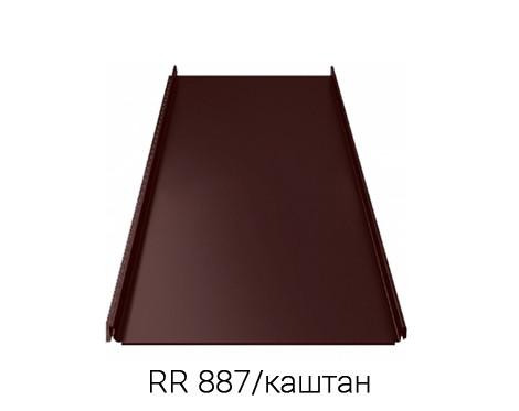 Фальцевая кровля RUUKKI CLASSIC C UA 40/Crown BT