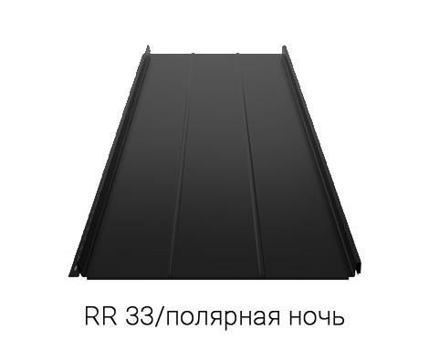 Фальцевая кровля RUUKKI CLASSIC D EU 40/Crown BT