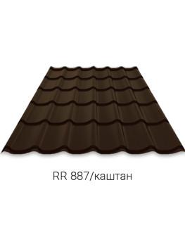 RUUKKI MONTERREY 40/Crown BT (Purex) Металлочерепица
