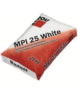 Штукатурная смесь MPI 25 White