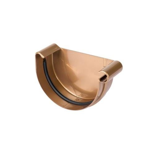 Заглушка желоба, правая 125 мм