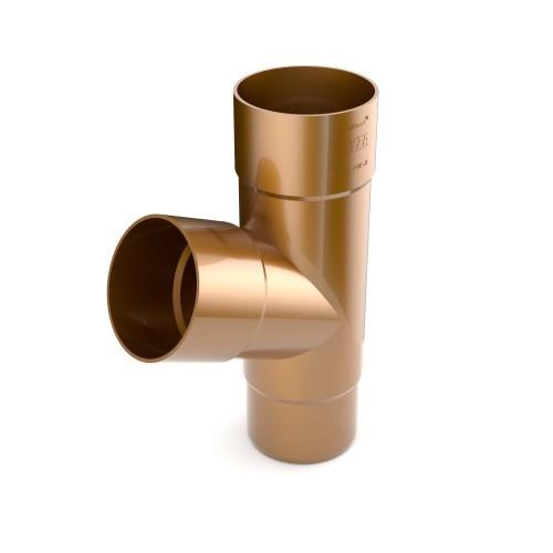 Тройник трубы 90 мм