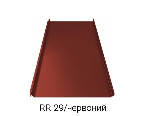 Фальцева покрівля RUUKKI CLASSIC C UA 30/RAFMATT