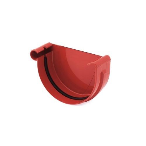 Заглушка желоба, левая 125 мм