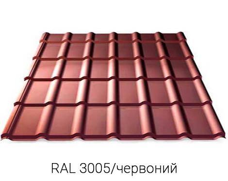 RANNILA DG 4345/PEMA Металочерепиця