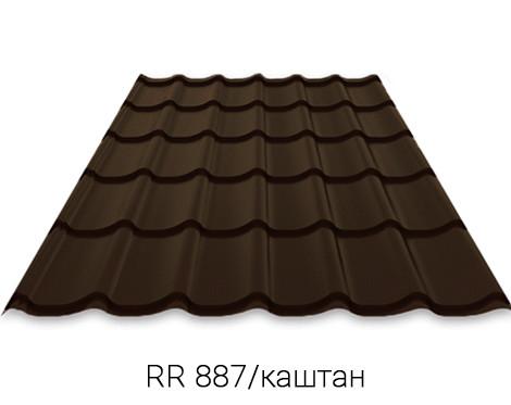 RUUKKI MONTERREY 40/Crown BT Металочерепиця