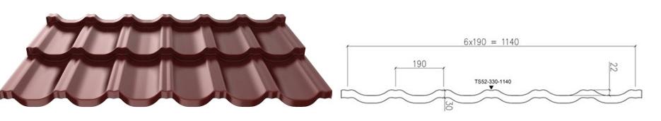 модульная металлочерепица руукки финэра