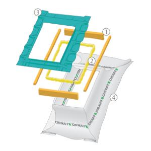 комплект гидро- пароизоляции факро