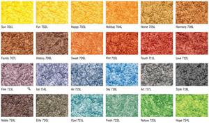 Цветовая гамма Baumit ArtLine Lasur