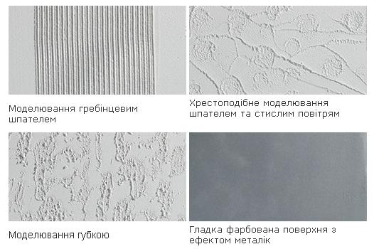 Структура пастообразной штукатурки Creative Top S-Fine