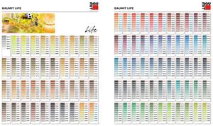 Цветовая гамма Baumit NanoporColor