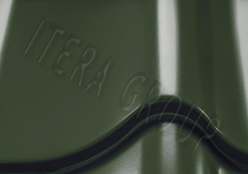 Металлочерепица Монтеррей 6020 Хромовый зеленый