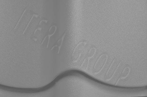 Металлочерепица Монтеррей Арселор 9006 Бело-алюминиевый