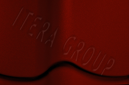 Металлочерепица Ретро / Jaspis 3009 Оксид красный