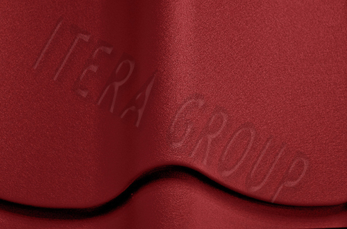 Металлочерепица Ретро / Jaspis 3011 Коричнево-красный