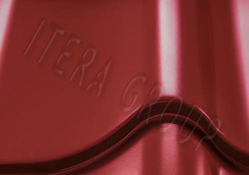 Металлочерепица Монтеррей Арселор 3011 Коричнево-красный