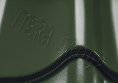 Металлочерепица Монтеррей Арселор 6020 Хромовый зеленый