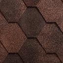 Бітумна черпиця ICOPAL TEMA Antik коричневий