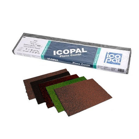 Конькова смуга +Карнизна смуга  Plano Combi(кольори Black, Natural brown, Coal grey, Brick red, Forest green)