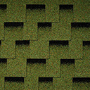 Битумная черепица Icopal Claro Shadow зеленый