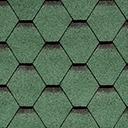 Битумная черепица IKO ARMOUR SHIELD цвет зеленый