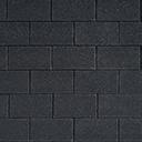 Битумная черепица IKO SUPERGLASS цвет черный