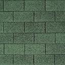 Битумная черепица IKO SUPERGLASS цвет темно зеленый