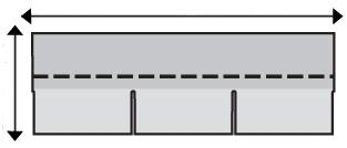 увеличенная площадь гонта