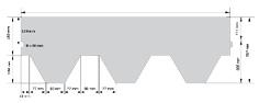 KATEPAL CLASSIC KL Соты однотонные