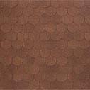 битумная черепица TEGOLA verona коричневый