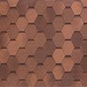 битумная черепица TEGOLA west красно-коричневый