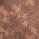 битумная черепица TEGOLA Версаль коричневый мореон