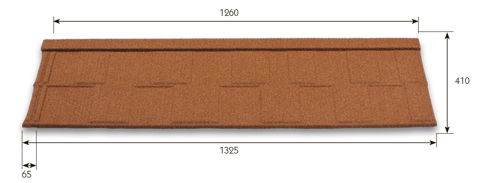 Размеры Metrotile Viksen