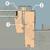 Мансардное окно Fakro система из 2 уплотнителей