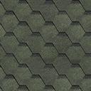 Битумная черепица Shinglas зеленый цвет