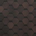 бітумна черепиця Shinglas коричневий колір