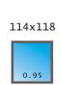 114x118