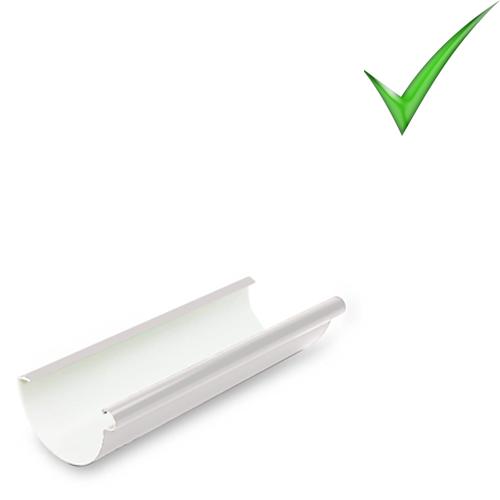 Водосточная система Galeco PVC 130 мм RAL 9010 Белый