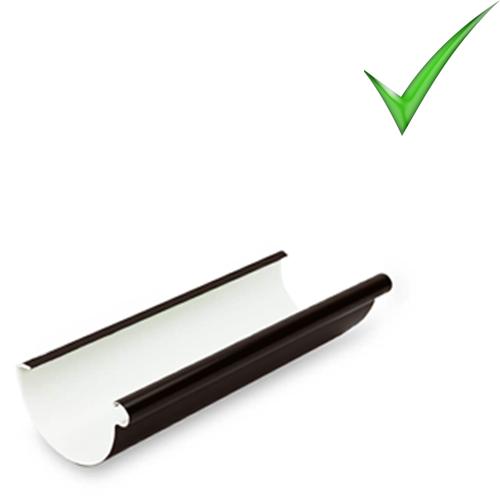 Водосточная система Galeco PVC 150 мм RAL 8019 Темно-коричневый