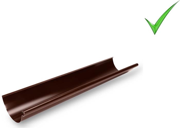 Водосточная система Galeco Stal 120 мм RAL 8017 шоколадно-коричневый