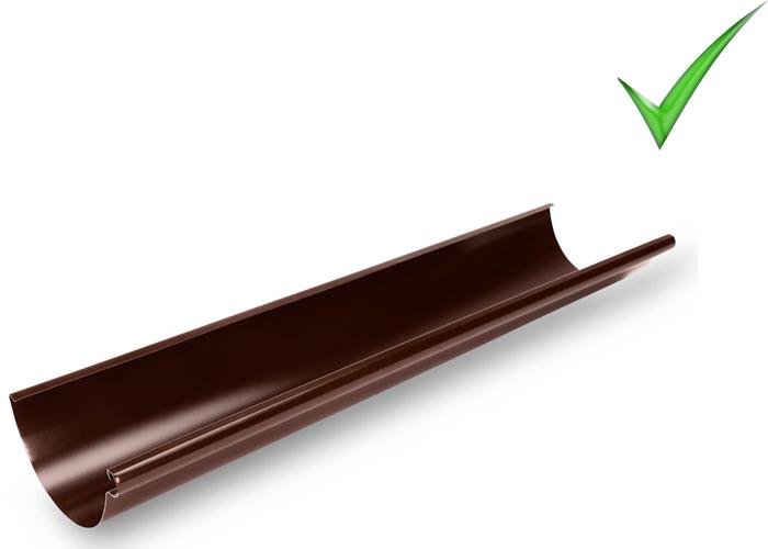 Водосточная система Galeco Stal 135 мм RAL 8017 Шоколадно-коричневый