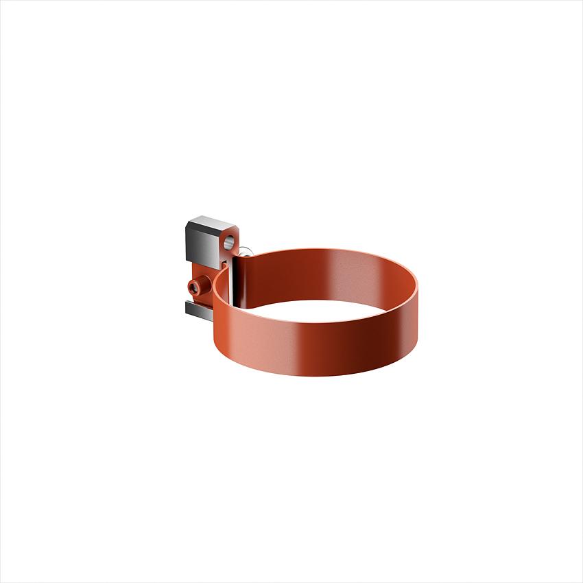 Кронштейн трубы металлический для дюбеля