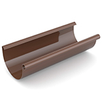 Водосточная система Ruukki Stal 125 RR 887 шоколадный