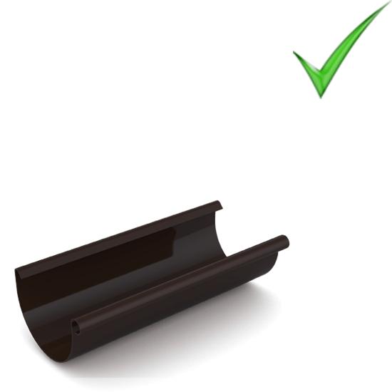 Водосточная система Ruukki Stal 125 RR 32 Темно-коричневый