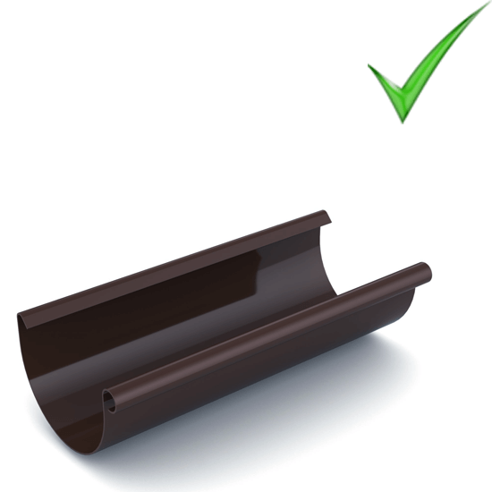 Водосточная система Ruukki Stal 150 RR 32 Темно-коричневый