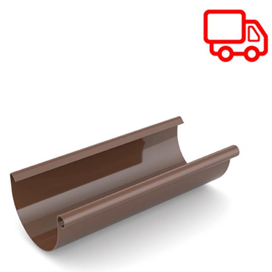 Водосточная система Ruukki Stal 150 RR 887 шоколадный