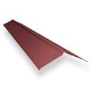 Планка конька прямая Длина - 2000 мм