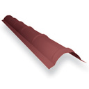 Планка конька полукруглая Длина - 2100 мм