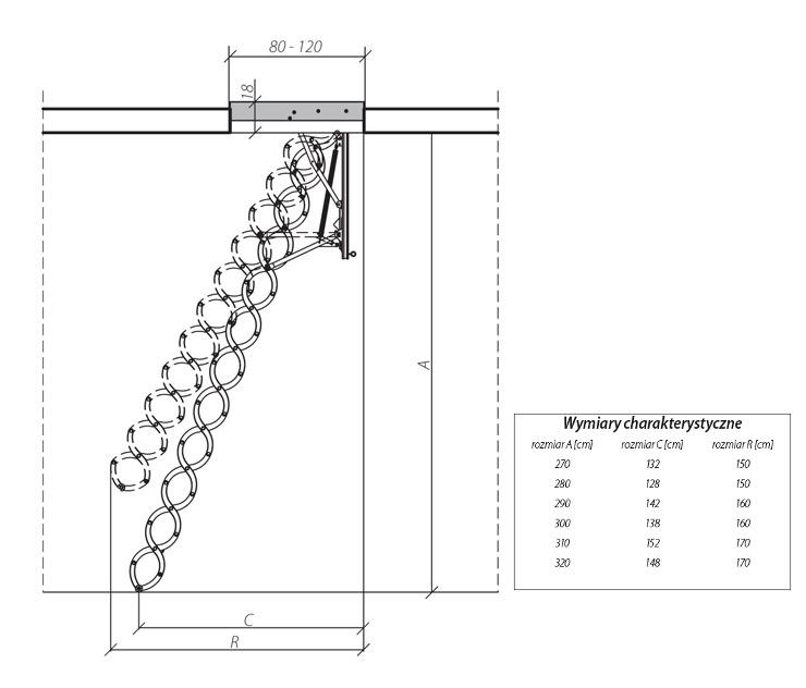 схема лестницы LST